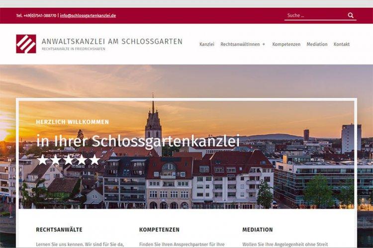 Schlossgarten Kanzlei Friedrichshafen